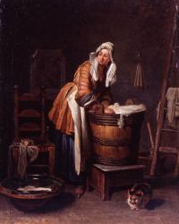 Jean Baptiste Simeon Chardin. Laundress