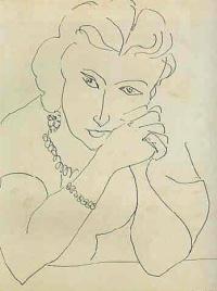 Анри Матисс. Женский портрет