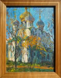 Александр Матюхин. Смоленской б.м., Новодевичий монастырь. Москва
