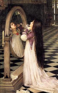 Мариана перед зеркалом