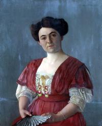 Portrait of Mrs. Haasen