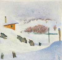 Джованни Джакометти. Зима