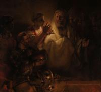 Рембрандт Харменс ван Рейн. Отречение Петра