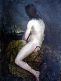 Nude in the reeds