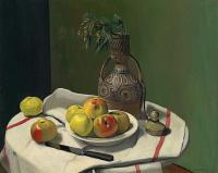 Феликс Валлоттон. Яблоки и марокканская ваза