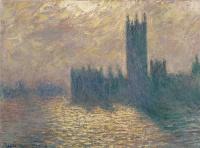 Клод Моне. Здание парламента, грозовое небо