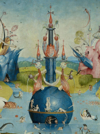 The Garden Of Earthly Delights Left Wing By Hieronymus Bosch History Analysis Facts