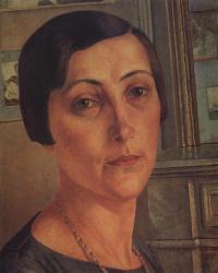 Portrait Of S. N. Andronnikova