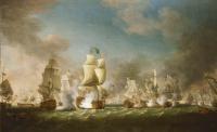 Ричард Патон. Сражение у мыса Пассаро 11 августа в 1718 года