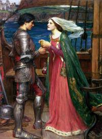 Тристан и Изольда с зельем