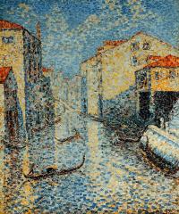 Анри Эдмон Кросс. Канал в Венеции