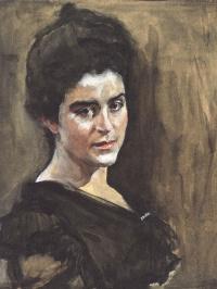 Portrait Of S. M. Dragomirova-Lukomskaya