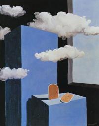 Рене Магритт. Поэтический мир II. Композиция с облаками и паштетом