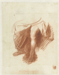 Рембрандт Харменс ван Рейн. Этюд женских ног