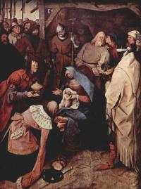 Питер Брейгель Старший. Поклонение волхвов