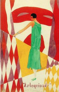 Рекламный плакат для модного дома Norine