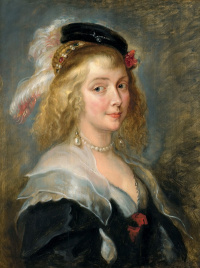 Peter Paul Rubens. Portrait Of Elena Forman