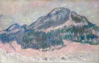 Гора Колсаас, розовое отражение