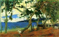 Поль Гоген. Прибрежный пейзаж на Мартинике