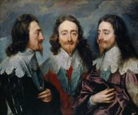 Антонис ван Дейк. Тройной портрет Карла I, короля Англии