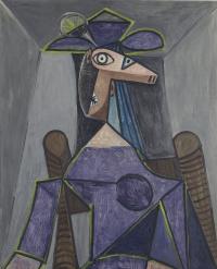Portrait of a woman (Dora Maar)