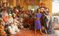 Уильям Холман Хант. Нахождение Спасителя во храме