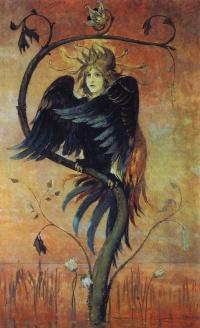 Gamayun, the prophetic bird