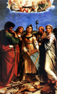 Экстаз Святой Цецилии