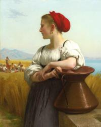 William-Adolphe Bouguereau. The harvest