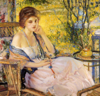 Richard Edward Miller. White necklace.