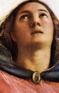 Assunta: Assumption Of The Virgin Mary. Snippet: the face of Mary
