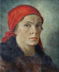 Портрет работницы-печатницы