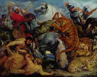 Питер Пауль Рубенс. Охота на тигров и львов
