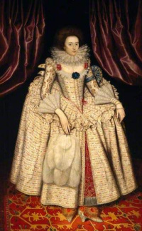 Portrait of Mary Curzon, Countess of Dorset