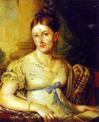 Portrait Of Helena Christianovna Macevoy