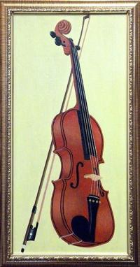 Study with violin # 2.