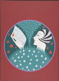 "My heartfelt congratulations with Christmas! Cover design for ""Harper's Bazaar"""