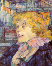"""Portrait of miss dolie of the variety """"star"""" in Le Havre"""