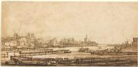 Рембрандт Харменс ван Рейн. Вид через Амстел со стороны старого бастиона