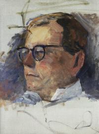 Портрет Дмитрия Шостаковича
