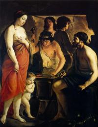 Антуан, Луи и Матье Ленен. Венера в кузнице Вулкана