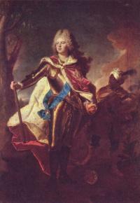Портрет Фридриха Августа II, курфюрста Саксонского