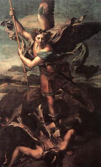 Святой архангел Михаил и Дьявол