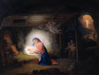 Владимир Лукич Боровиковский. Рождество Христово