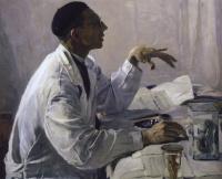 Портрет хирурга С. С. Юдина