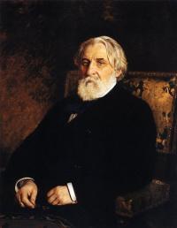 Илья Ефимович Репин. Портрет писателя И.C.Тургенева