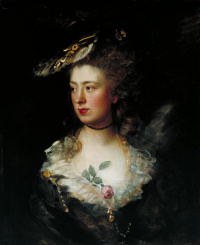 Portrait of Mary Gainsborough, daughter of the artist