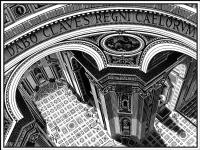 Мауриц Корнелис Эшер. Собор Святого Петра в Риме