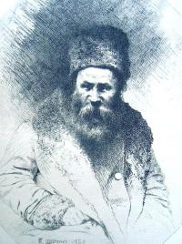 Self-portrait with beard
