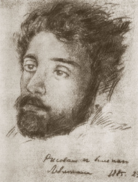 Portrait of a patient Levitan